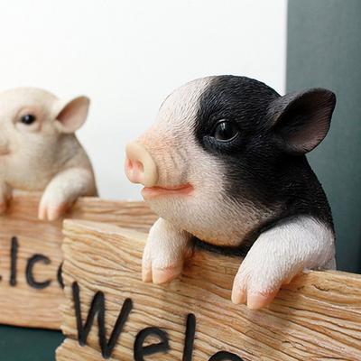 DS-483웰컴 복 돼지 2color 인테리어 소품 카페 장식품