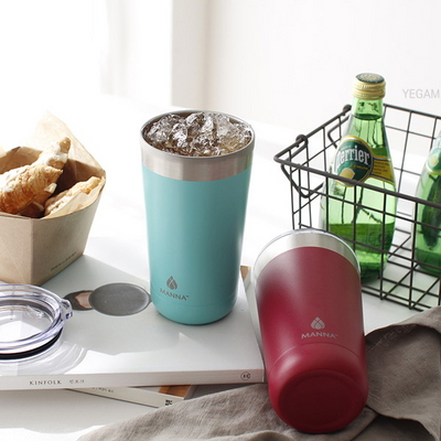 DS-코어홈 마나 젤리 텀블러 보온 보냉 병 스텐 컵 4color