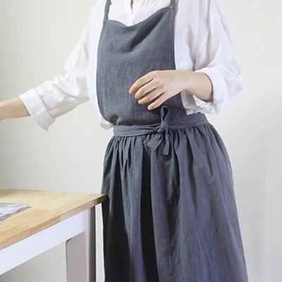 DS-라피아네 원피스 앞치마  2color 어린이집 교사 주방