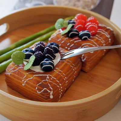DS-사각 패스츄리 2style 카페 음식 모형 미니어처 소품