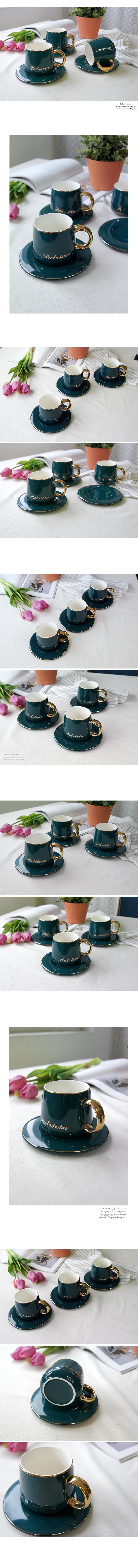 DS-터키쉬 골드 커피잔 1인 세트 - 리빙톡톡, 23,800원, 커피잔/찻잔, 커피잔/찻잔 세트