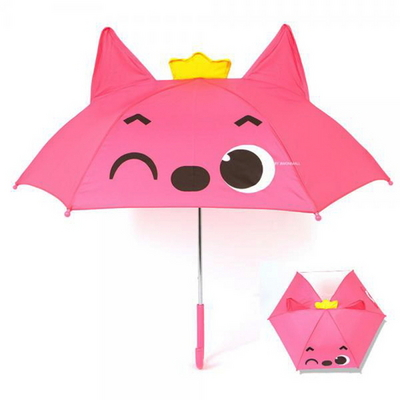 DS-380핑크퐁 아빠상어 어린이 장우산 3세 4세 유아 어린이집 우산