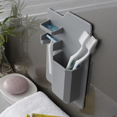 DS-711실리콘 칫솔 치약 꽂이 거치대 3color 욕실 칫솔 걸이 홀더