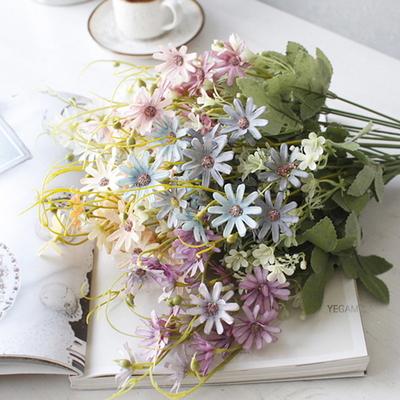 DS-봄빛 데이지꽃 다발 4color 조화 장식
