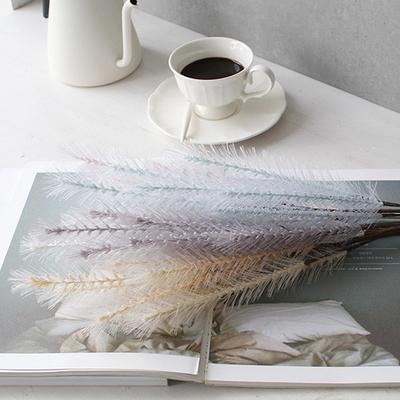 DS-컬러 깃털 가지 5color 조화 장식