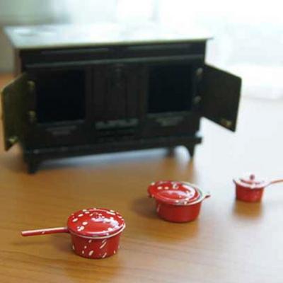 DS-841앤틱 오븐 주방 미니어처 set 인테리어 카페 장식 소품