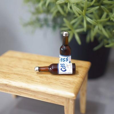 DS-846 맥주 미니어처 2P 인테리어 카페 장식 소품