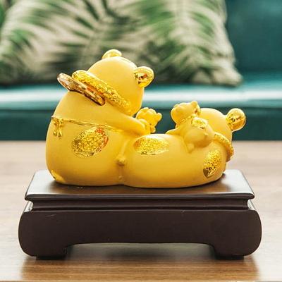 DS-874풍수 재물 황금 복 돼지 장식품 카페 소품 개업선물