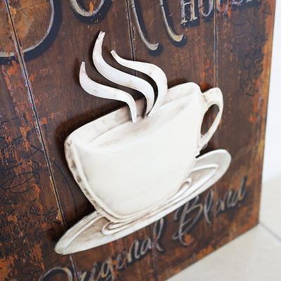 DS-S120 커피 입체 벽걸이 액자 카페 소품 집들이 개업 선물