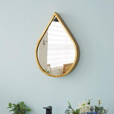 DS-S78골드 물방울 인테리어 벽걸이 거울 개업 집들이 선물 카페 소품