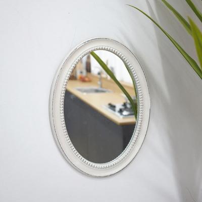 DS-S93화이트 인테리어 벽걸이 거울 개업 집들이 선물 카페 소품