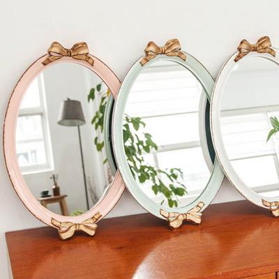 DS-S98인테리어 거울 쟁반 트레이 3color 개업 집들이 선물 카페 소품