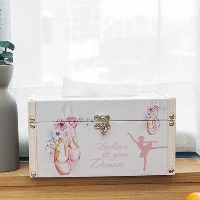 DS-S118발래슈즈 각 티슈 케이스 화장지 커버 박스 개업 집들이 선물