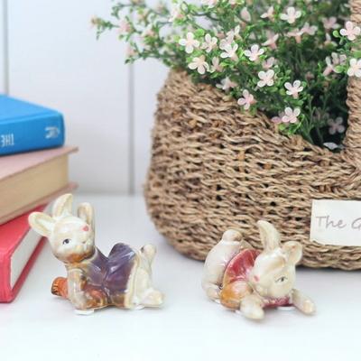DS-S162미니 토끼 장식품 2P 카페 소품 개업 집들이 선물