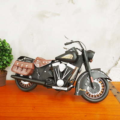 DS-S238블랙 철제 오토바이 소품 1P 카페 인테리어 장식품 개업 선물