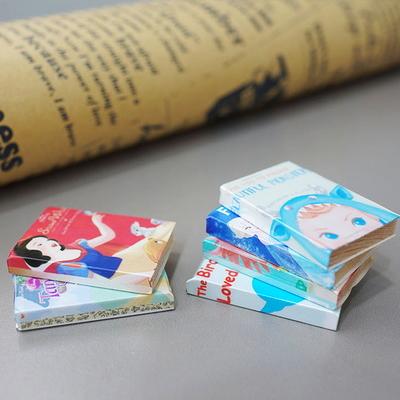 DS-S249동화책 미니어처 6P 카페 인테리어 장식품 개업 선물