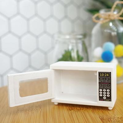 DS-S251전자렌지 미니어처 1P 카페 인테리어 장식품 개업 선물