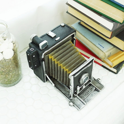 DS-S294엔틱 폴딩 카메라 소품 (대) 개업 집들이 선물 카페 장식품