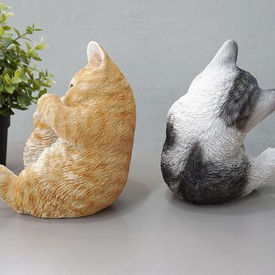 DS-S328꼬리 고양이 장식품 2color 카페 소품 집들이 개업 선물