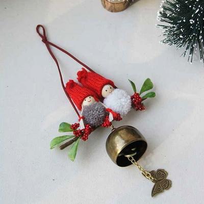 DS-L36빨간모자 도어벨 문종 1P 크리스마스 가랜드 장식 카페 소품