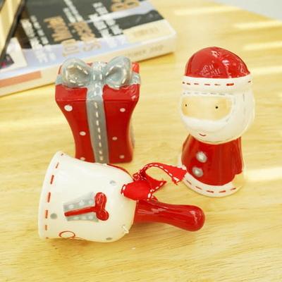 DS-L40산타 종 선물 3종 크리스마스 장식 카페 소품