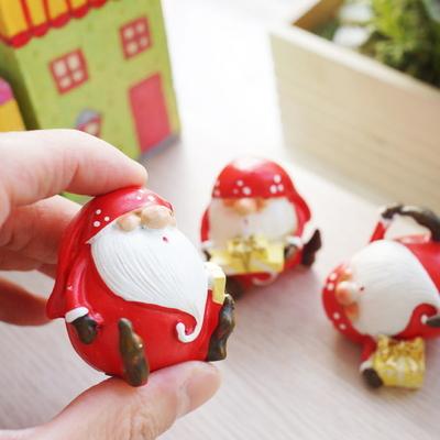 DS-S315미니 산타 4종 크리스마스 선물 장식 카페 인테리어 소품