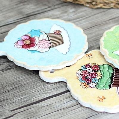 DS-S373컵케익 냄비받침 1P 주방 소품