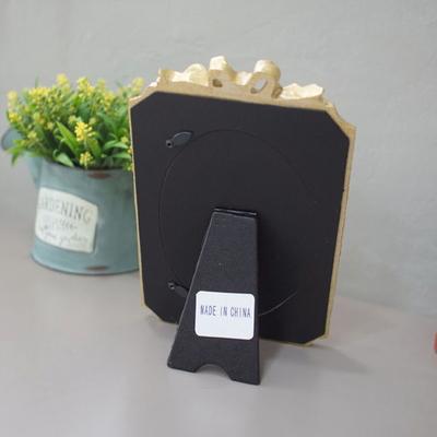 DS-S110골드 로즈 리본 사진 액자 4x7 인테리어 탁상용 포토 소품