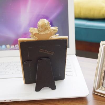 DS-S120장미천사 미니 사진 액자 2color 인테리어 탁상용 포토 소품