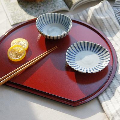 DS-L58일본산 레이카 트레이 쟁반 1P 카페 인테리어 소품