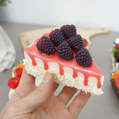 DS-S392 조각 케익 냉장고 자석 6종세트 카페 음식 모형 소품