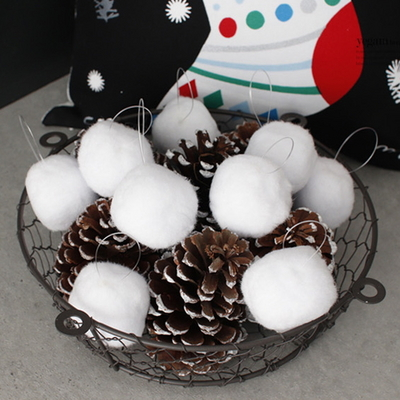 DS-J74 화이트 눈송이 장식 3size 크리스마스 가렌더 트리 벽 오너먼트