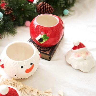 DS-S462 크리스마스 장식 캔디함 (중) 성탄절 소품 선물