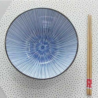 DS-L155일본 아키나 면기 4P세트 우동 그릇