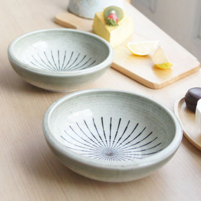 DS-L158일본 아케미 비빔기 2P세트 (중) 비빔 면 그릇