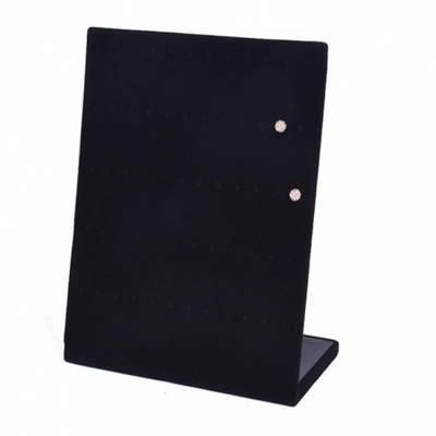 DS-G656스웨이드 귀걸이 진열대 (블랙) 액세서리 보석함