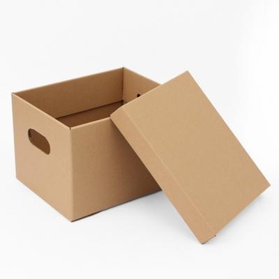 DS-G667 DIY 크래프트 수납 종이 박스 (29.5x23cm) 다용도 리빙 상자