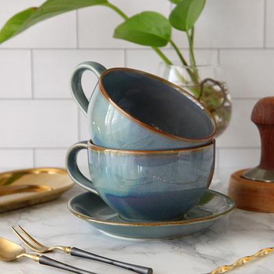 DS-F25홈카페시리즈 라떼잔 (380ml) 커피잔 선물