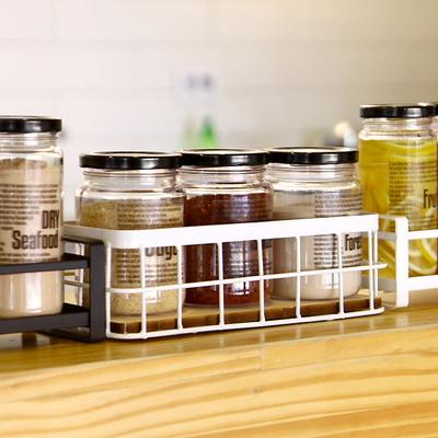 DS-B37 양념통 수납 정리 정리대 (B형) 주방 소품 바구니 진열대