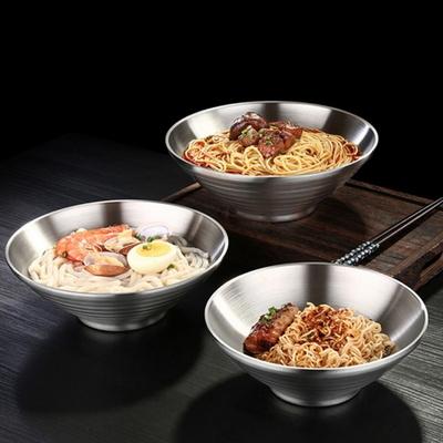 DS-G736보온 보냉 이중 스텐 그릇 24cm 면기 라면그릇