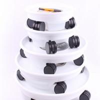 DO-104물받침 이동식 원형 바퀴 화분받침대 (8호)