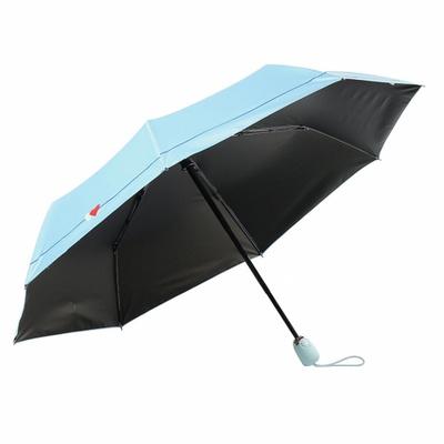 DS-G821 UV차단 3단 접이식 자동 양산 겸 우산 스카이