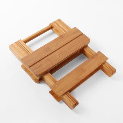 DS-G902내추럴 접이식 휴대용 원목 의자