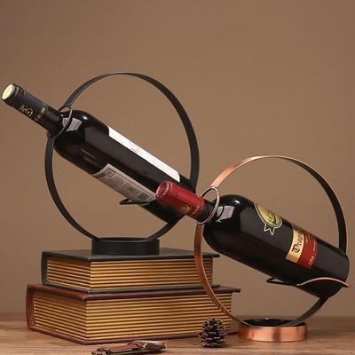 DS-A96원형 스틸 와인랙 (브론즈) 와인 거치대 홀더