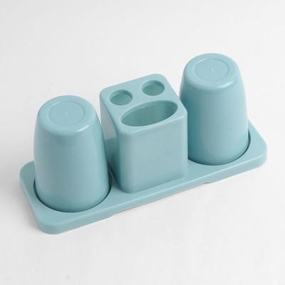 DS-G1016클린원 칫솔꽂이 양치컵 세트 (블루)
