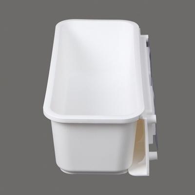 DS-G890공간활용 슬라이딩 소품 틈새 선반 (화이트)