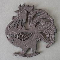 DS-B50 닭 주물 냄비받침 2size 주방 소품