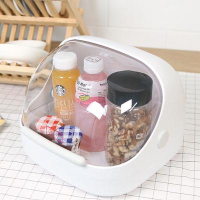 DS-H36일본산 먼지차단 양념통 식료품 커버 보관함