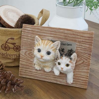 DS-S946 고양이 입체 액자 1P 카페 소품 벽장식