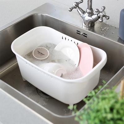DS-H22일본 싱크대 설거지 바스켓 물빠짐 설거지통